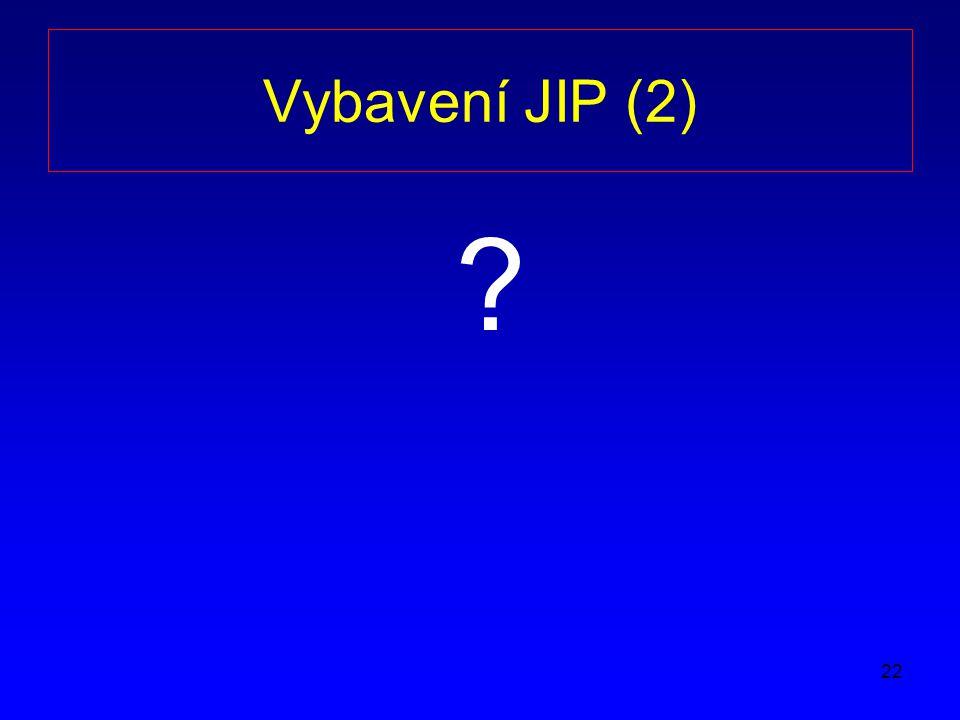 Vybavení JIP (2)