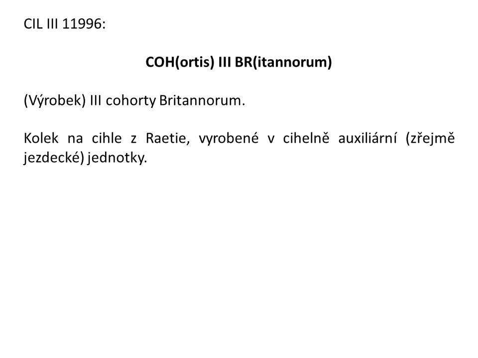 COH(ortis) III BR(itannorum)
