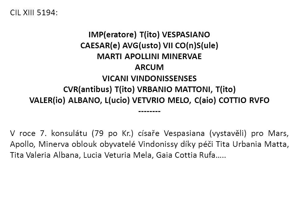 IMP(eratore) T(ito) VESPASIANO CAESAR(e) AVG(usto) VII CO(n)S(ule)