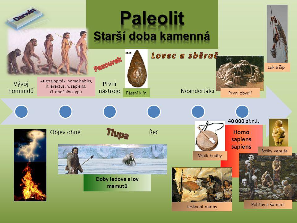 Paleolit Starší doba kamenná