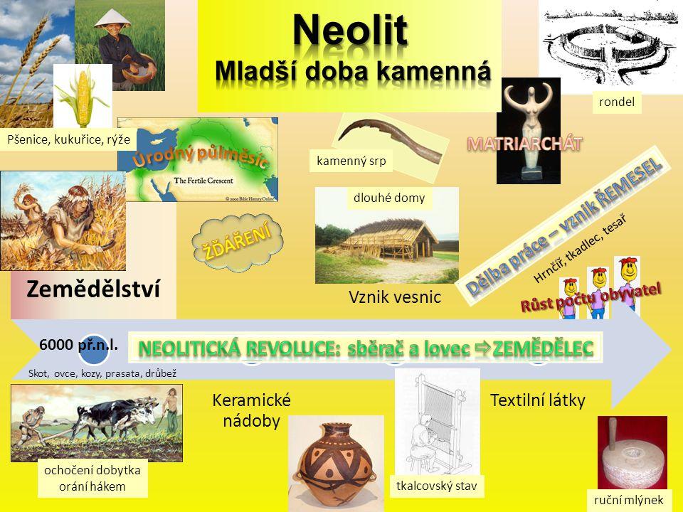 Neolit Mladší doba kamenná
