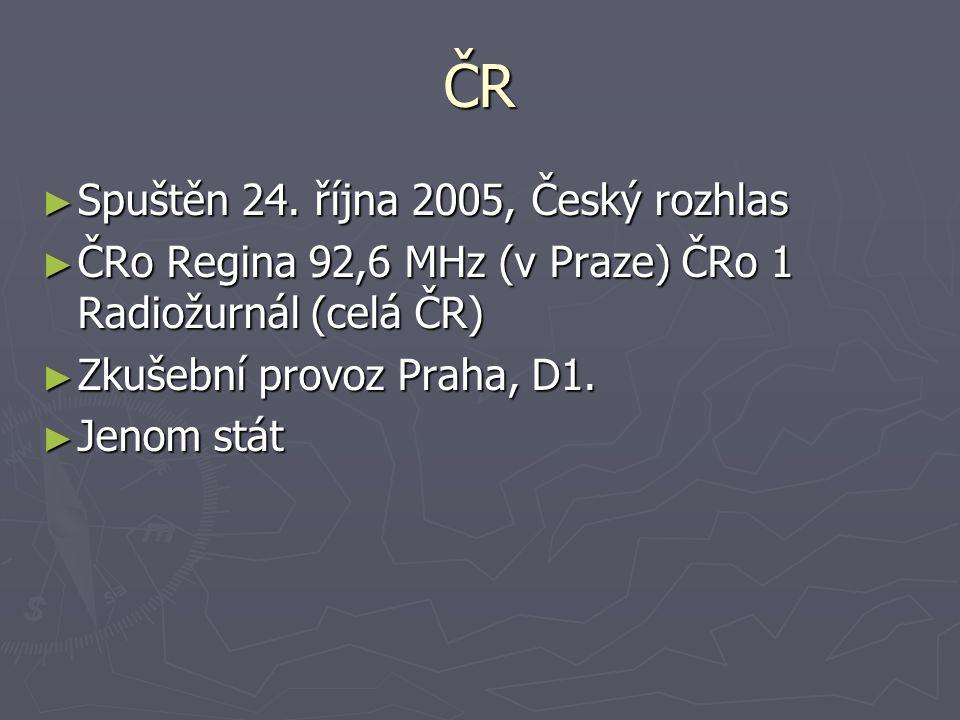 ČR Spuštěn 24. října 2005, Český rozhlas