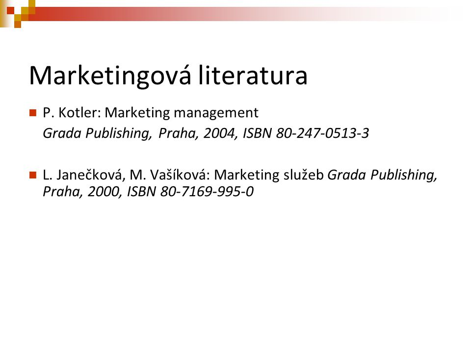 Marketingová literatura