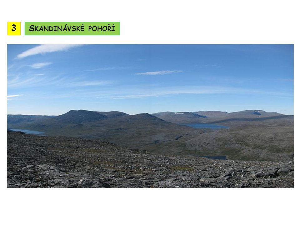 3 Skandinávské pohoří
