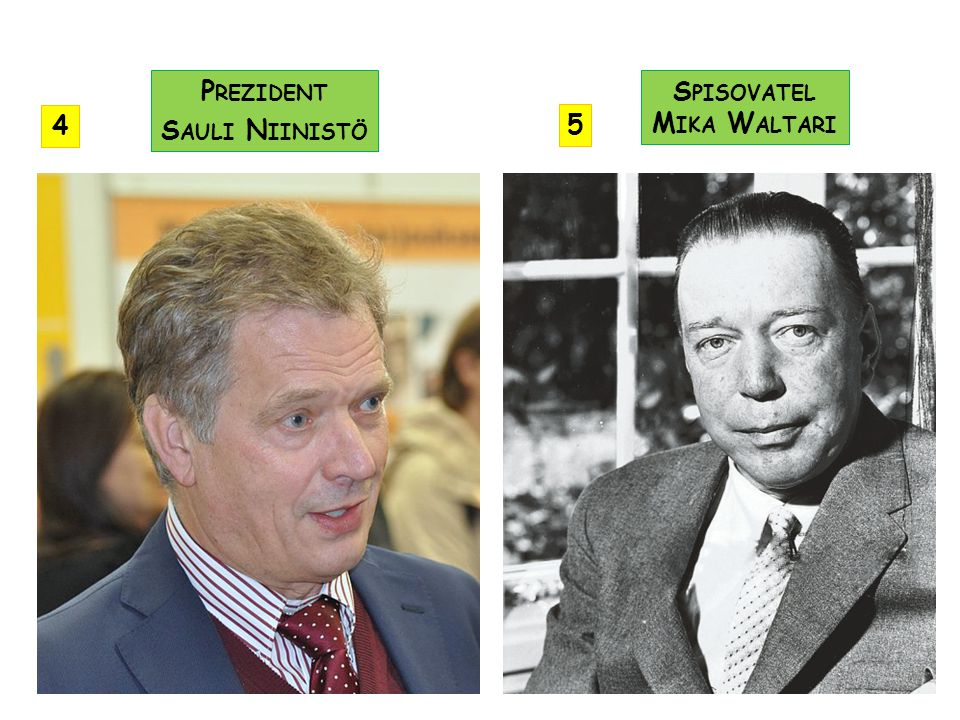 Prezident Sauli Niinistö Spisovatel Mika Waltari 4 5