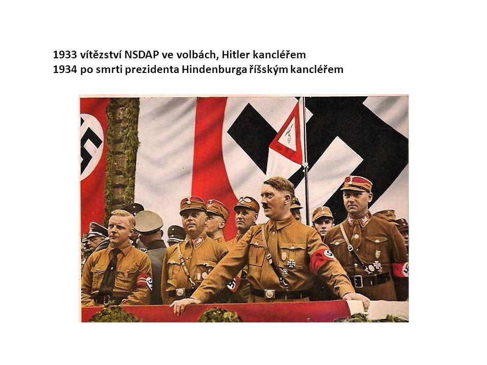 1933 vítězství NSDAP ve volbách, Hitler kancléřem