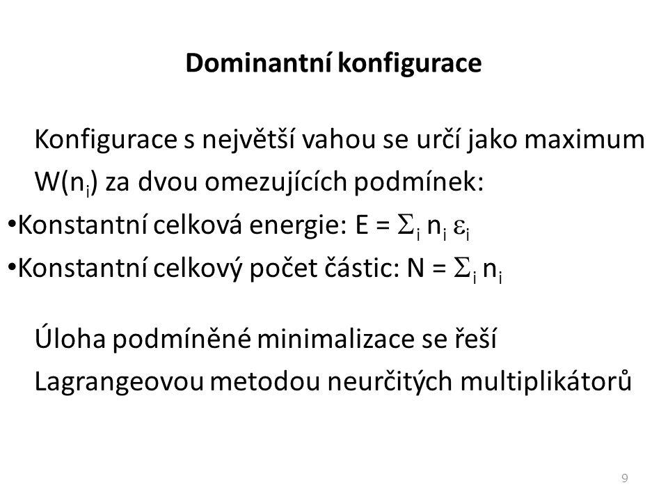 Dominantní konfigurace