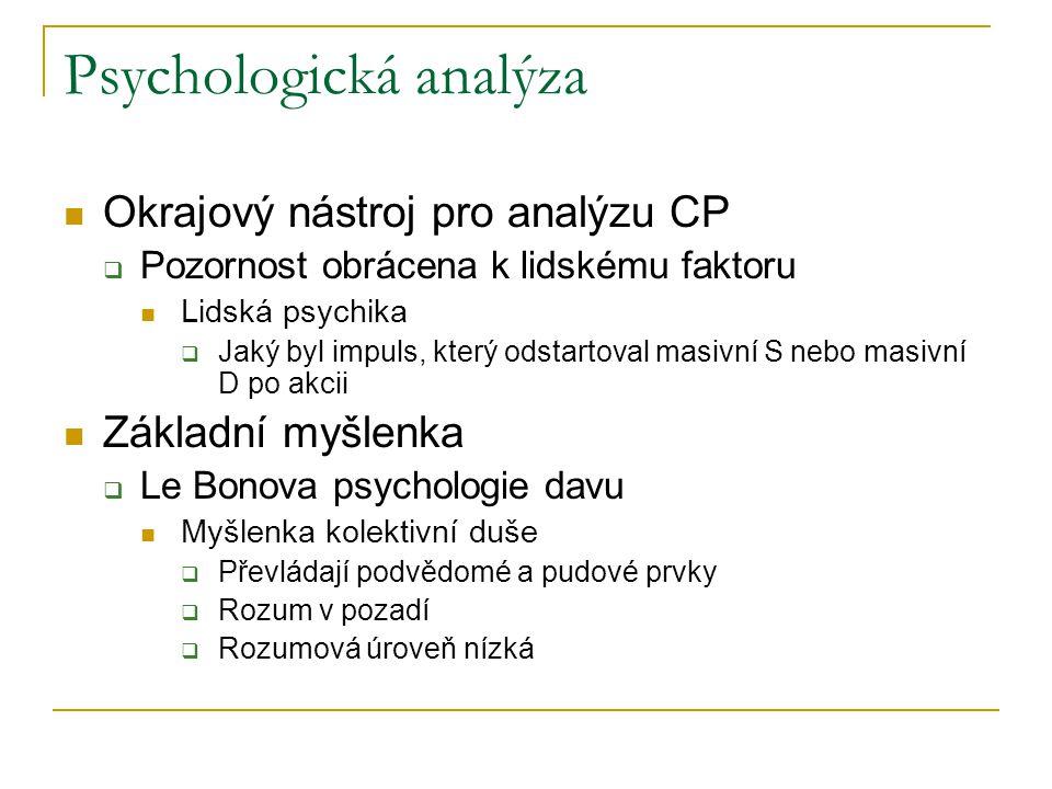 Psychologická analýza