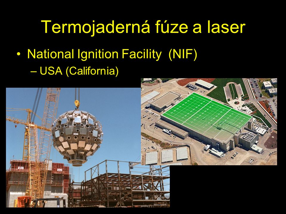 Termojaderná fúze a laser