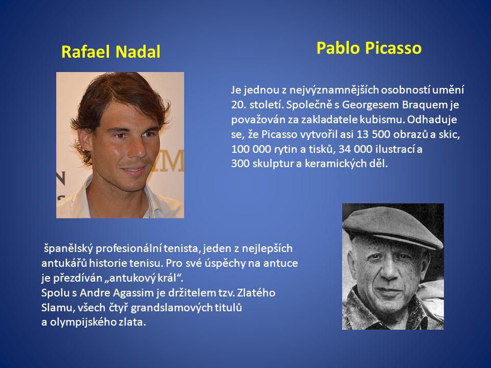 Pablo Picasso Rafael Nadal