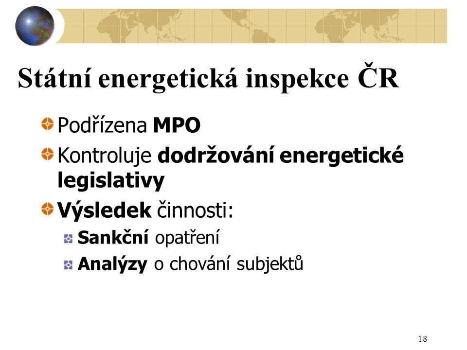 Státní energetická inspekce ČR