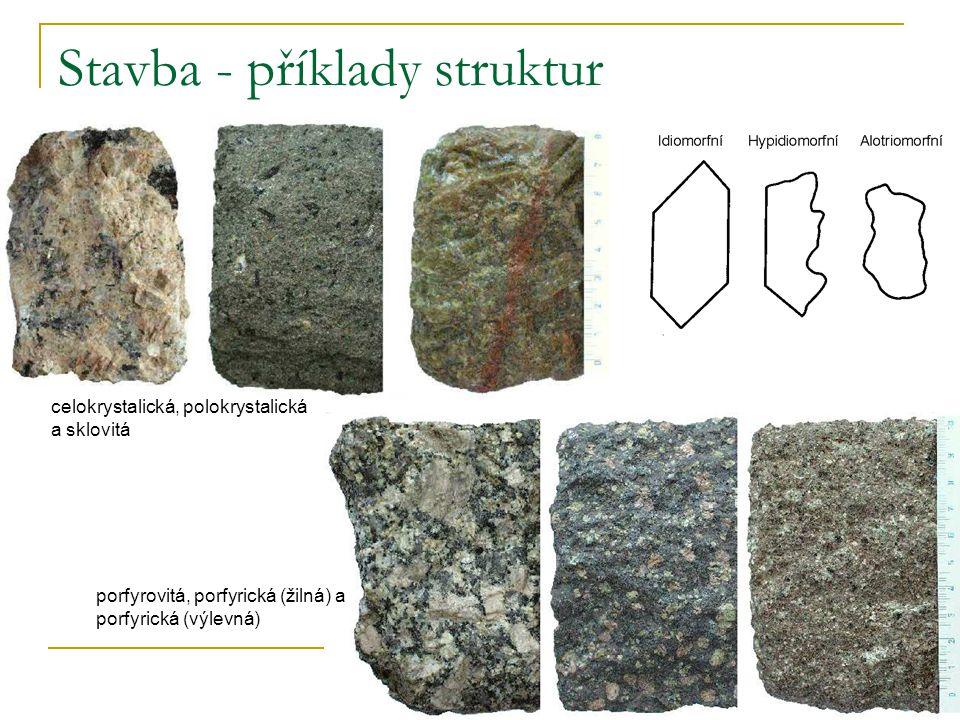 Stavba - příklady struktur