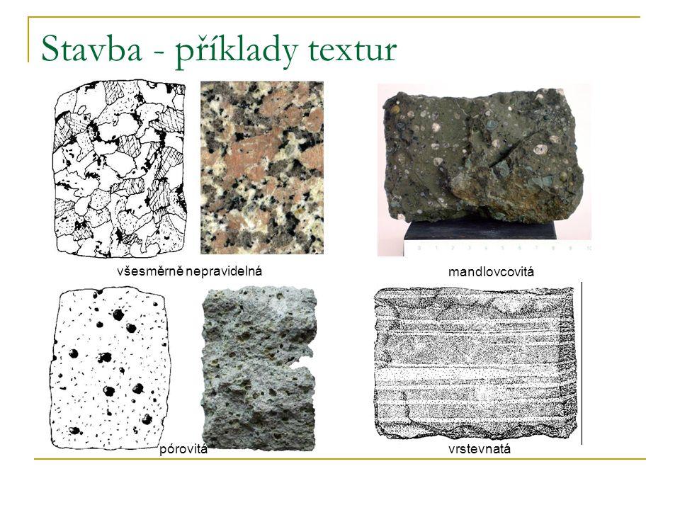 Stavba - příklady textur