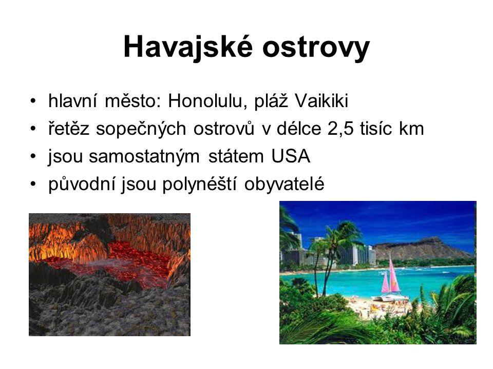 Havajské ostrovy hlavní město: Honolulu, pláž Vaikiki