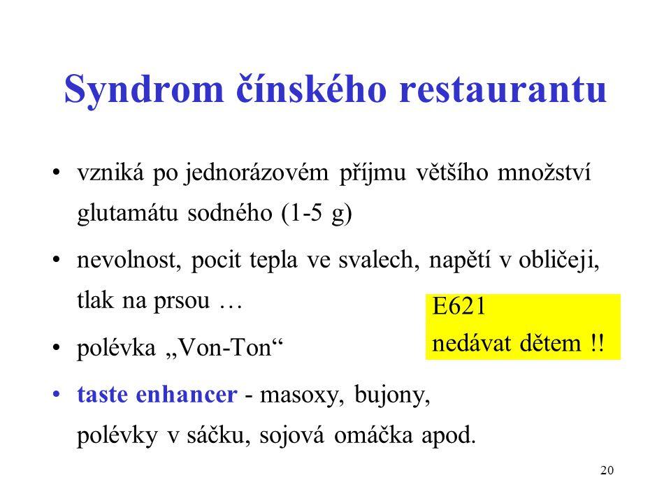 Syndrom čínského restaurantu