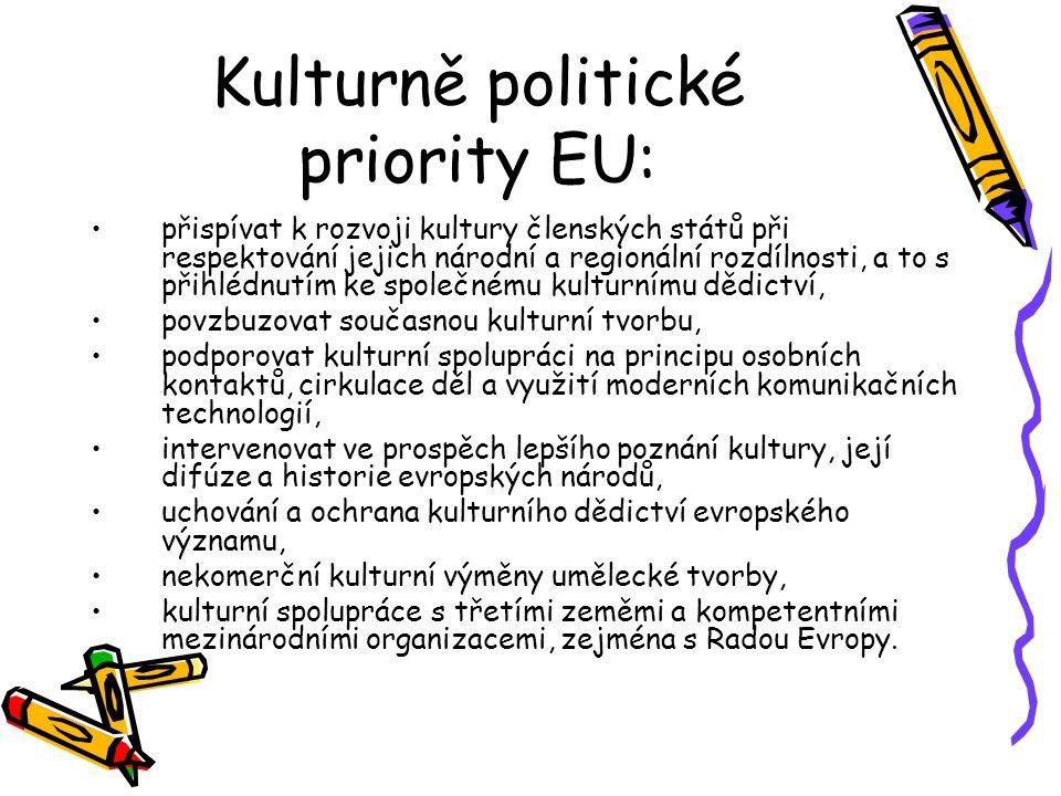 Kulturně politické priority EU: