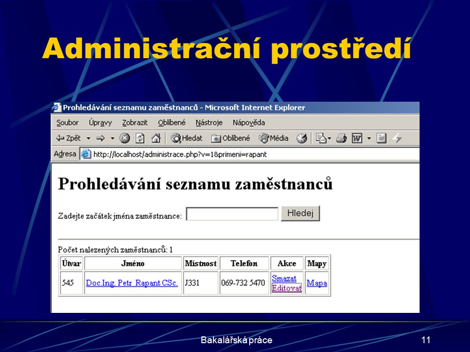 Administrační prostředí