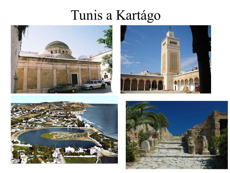 Tunis a Kartágo