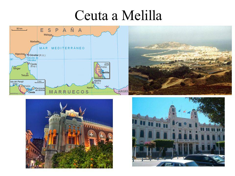 Ceuta a Melilla