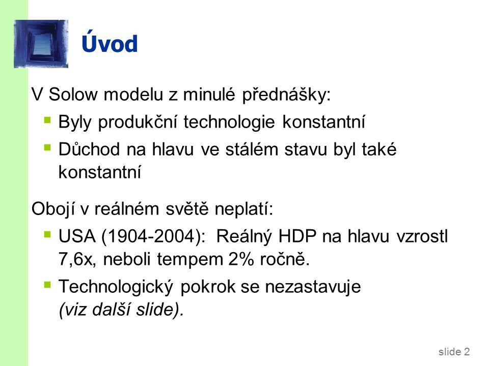 Příklady technologického pokroku
