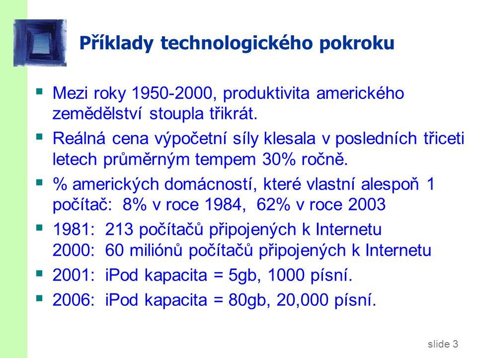 Technologický pokrok v Solow modelu
