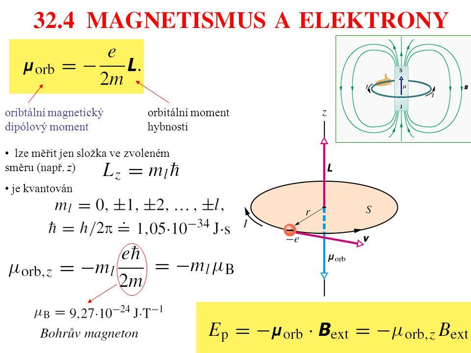 oribtální magnetický dipólový moment