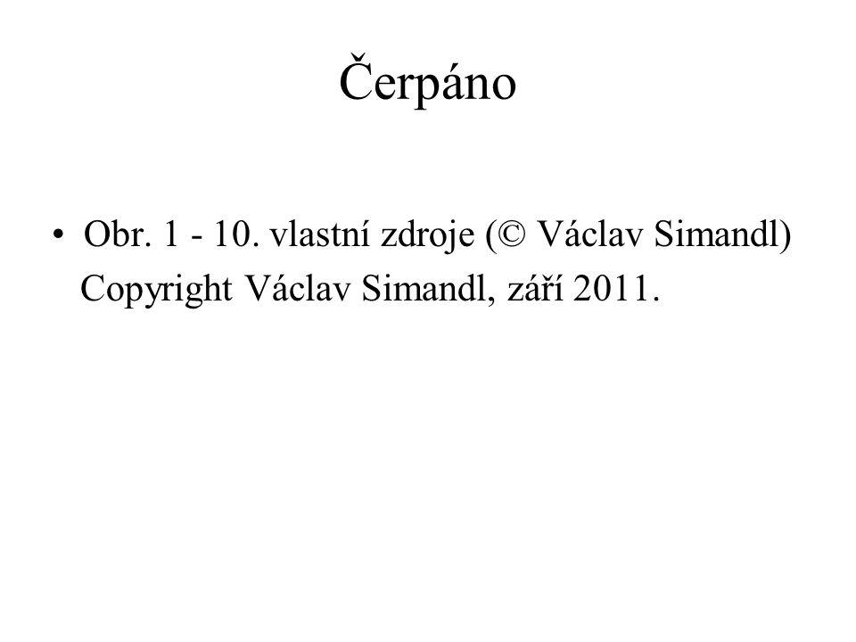 Čerpáno Obr. 1 - 10. vlastní zdroje (© Václav Simandl)