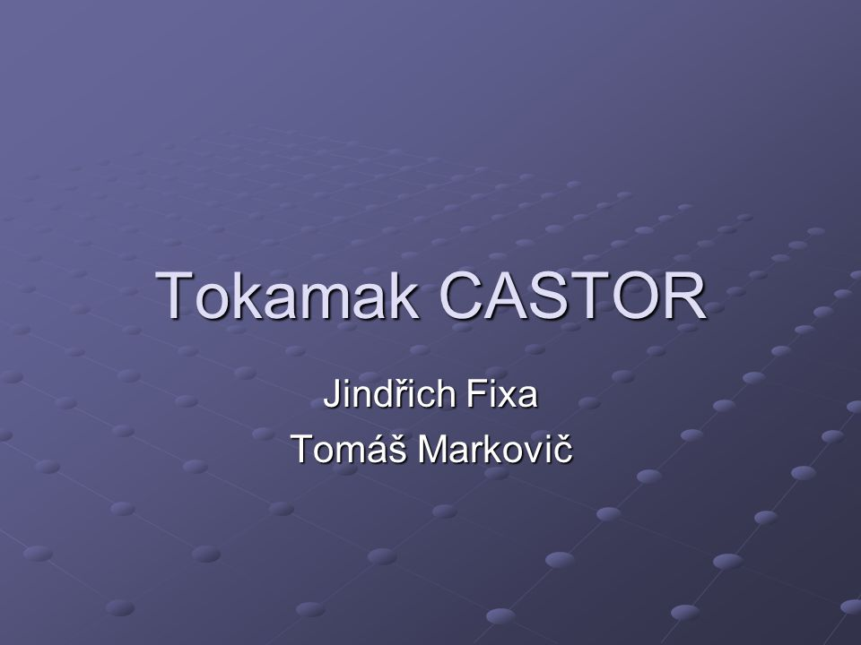 Jindřich Fixa Tomáš Markovič