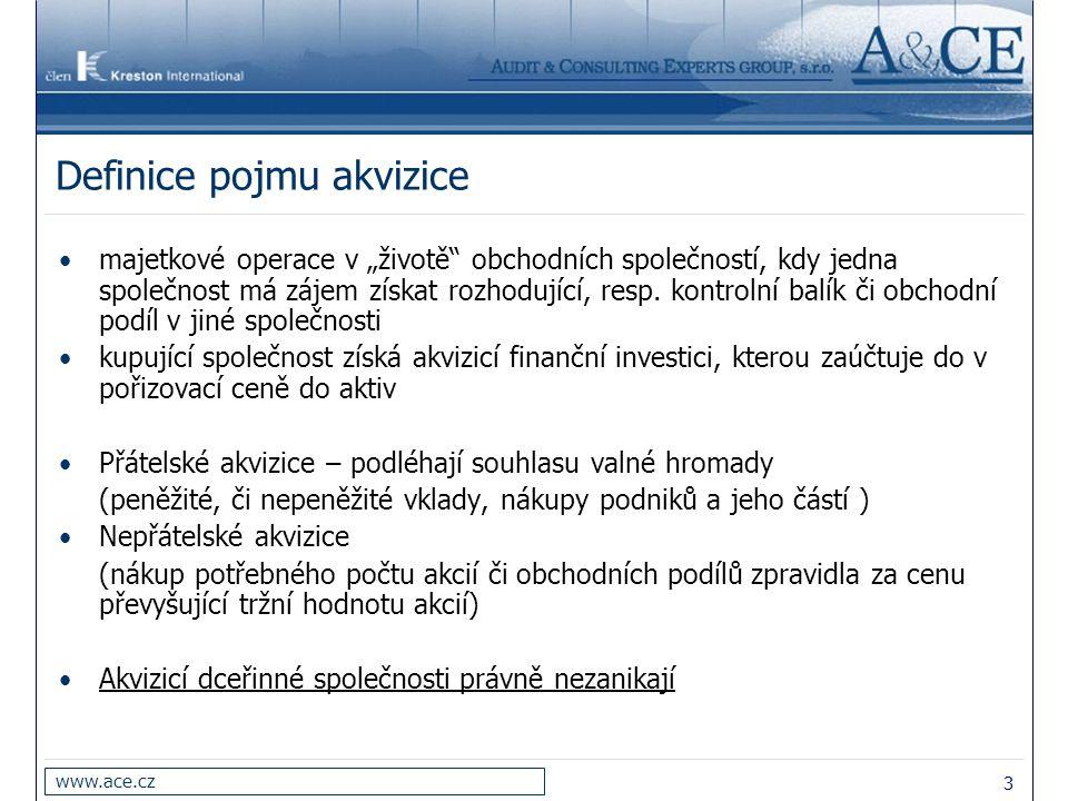 Definice pojmu akvizice