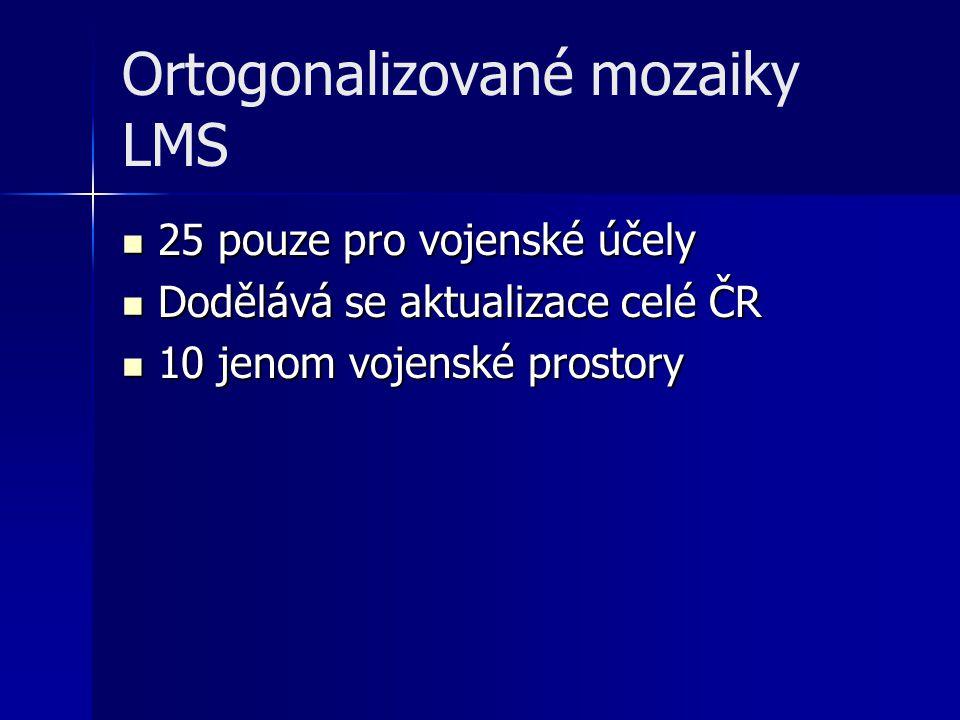 Ortogonalizované mozaiky LMS