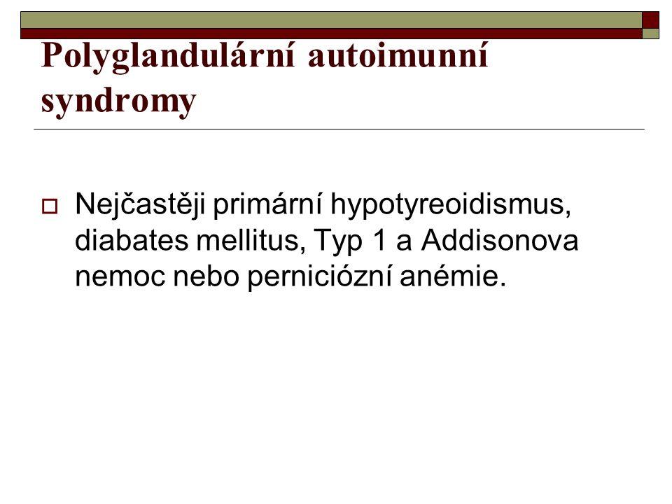 Polyglandulární autoimunní syndromy