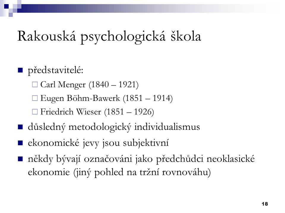 Rakouská psychologická škola