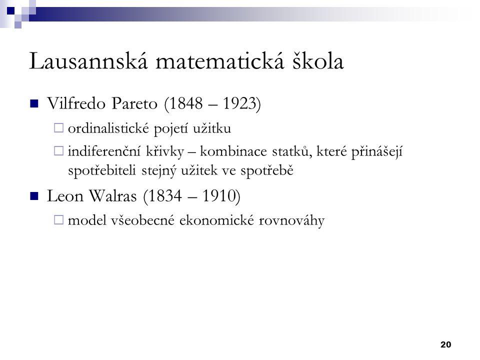 Lausannská matematická škola