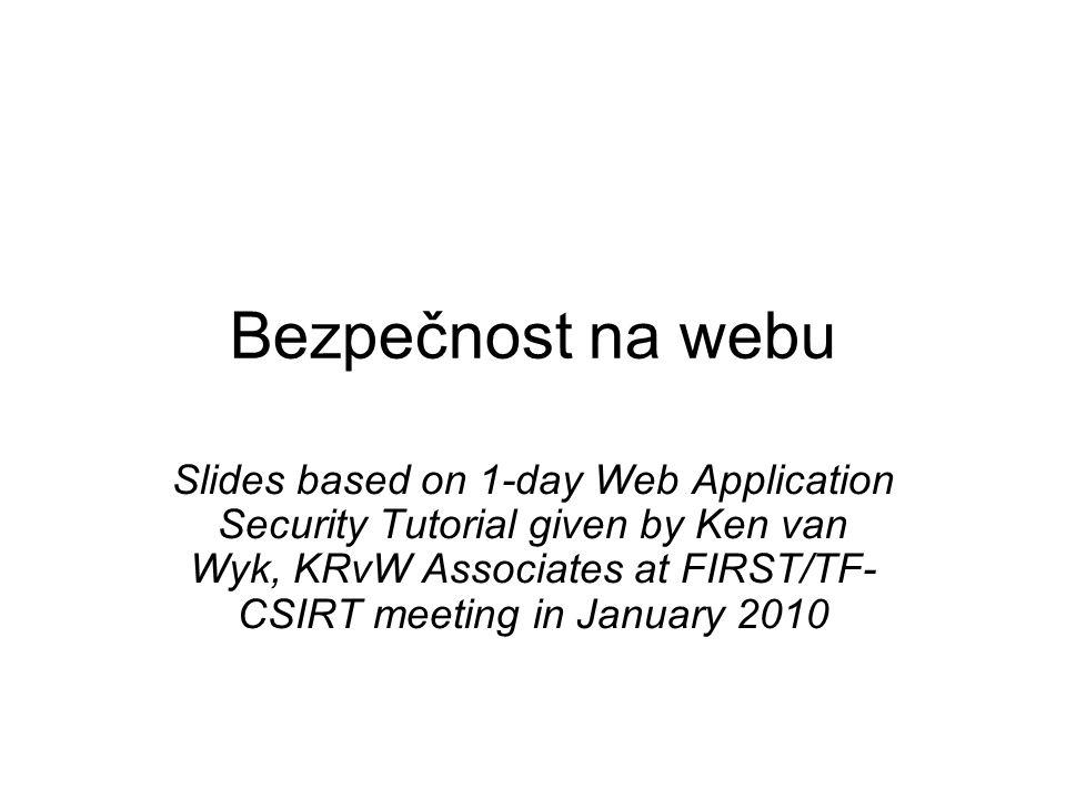 Bezpečnost na webu