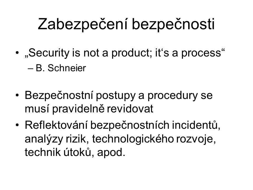 Zabezpečení bezpečnosti