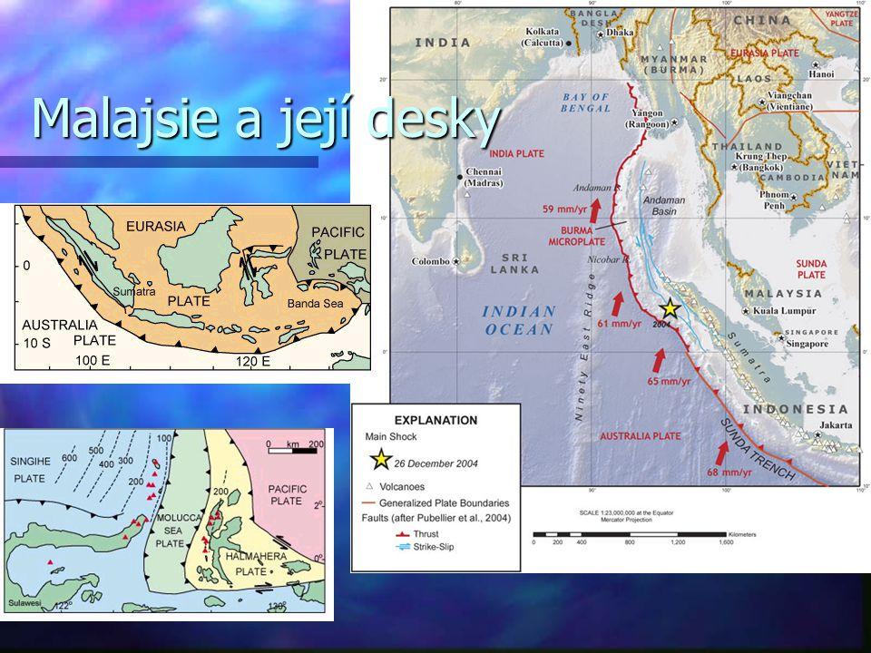 Malajsie a její desky