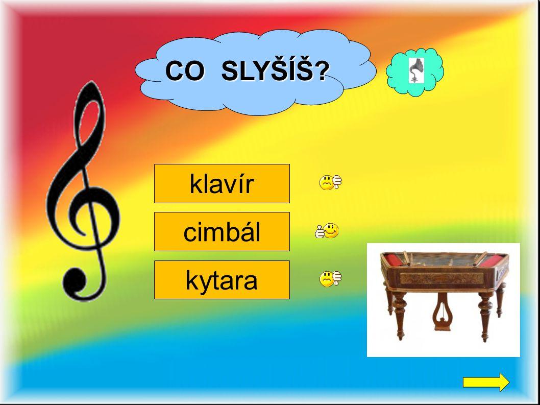 CO SLYŠÍŠ klavír cimbál kytara 2