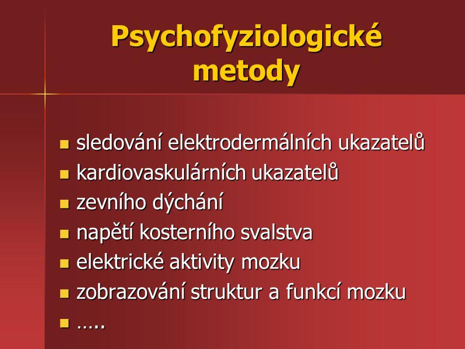 Psychofyziologické metody