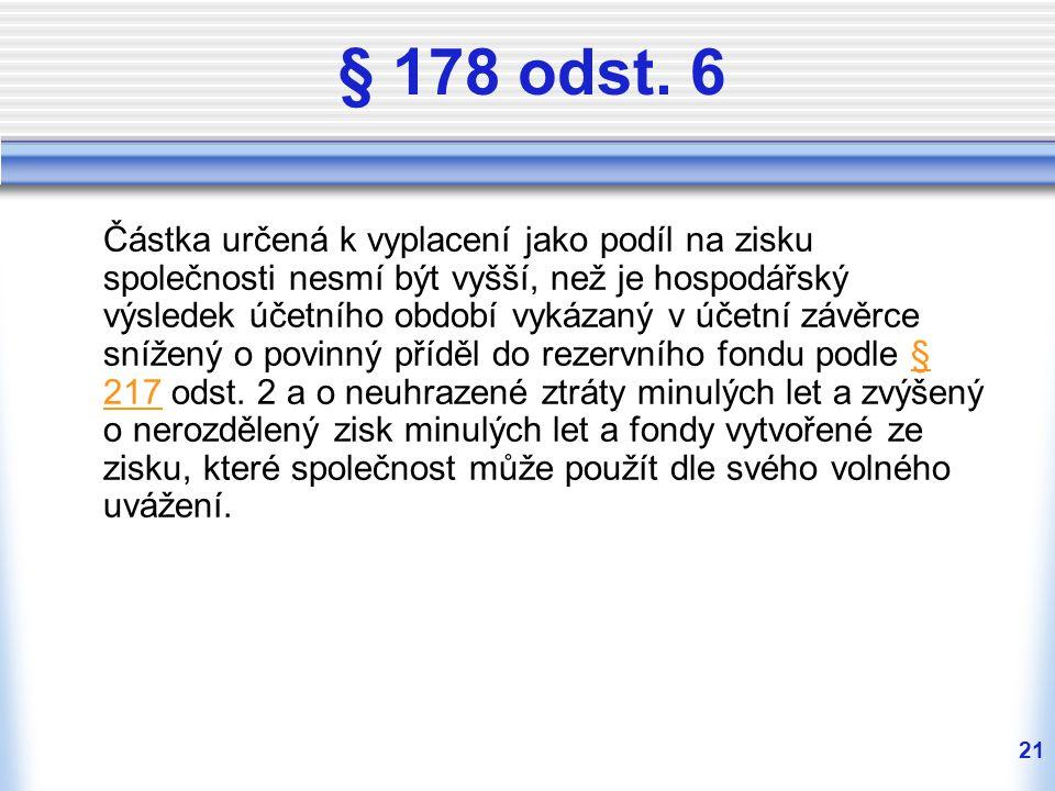 § 178 odst. 6