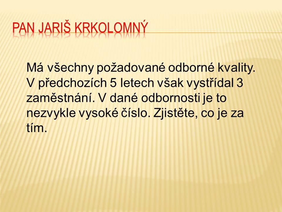 Pan Jariš Krkolomný