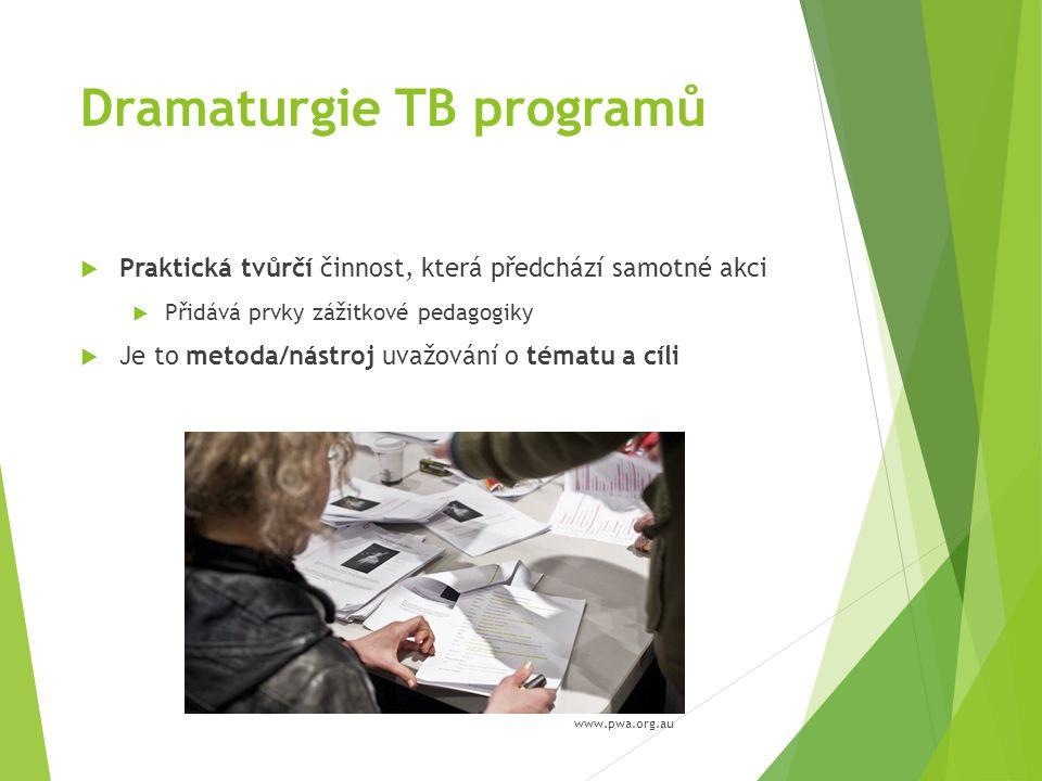 Dramaturgie TB programů