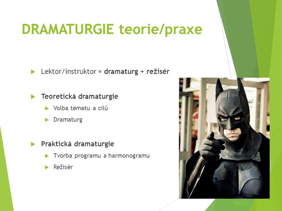 DRAMATURGIE teorie/praxe