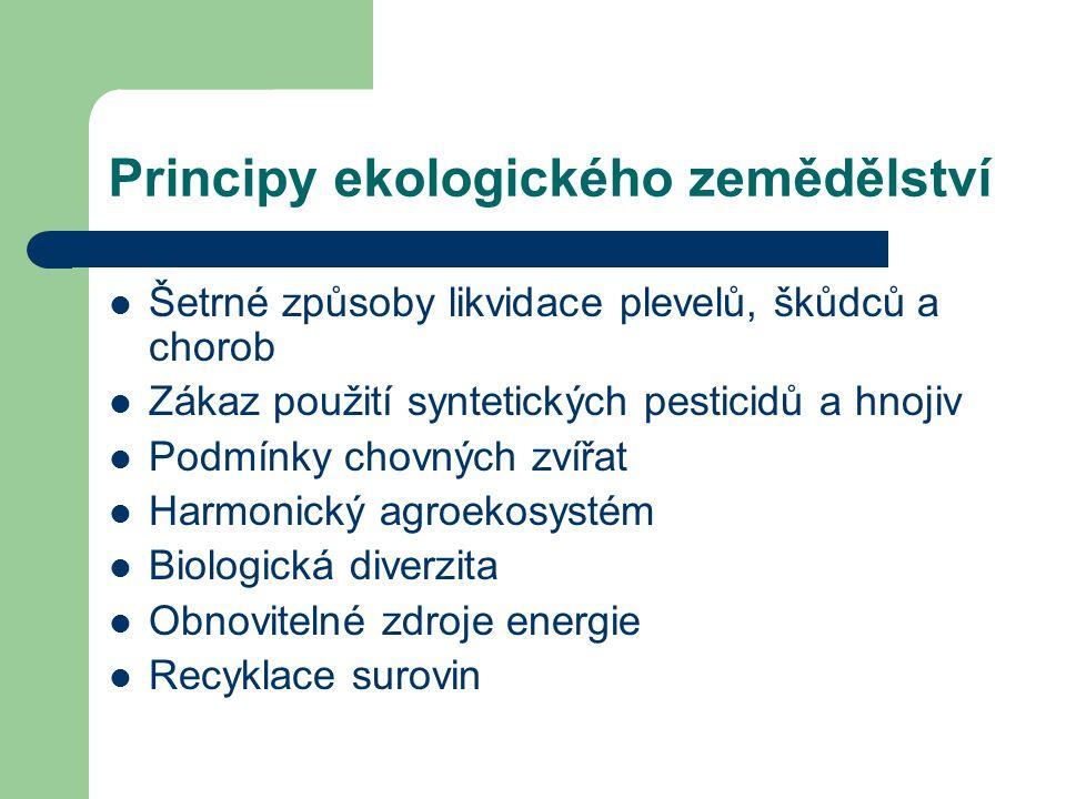 Principy ekologického zemědělství