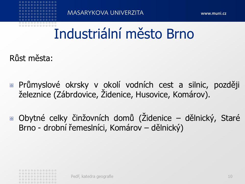Industriální město Brno
