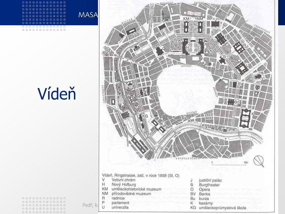 Vídeň PedF, katedra geografie