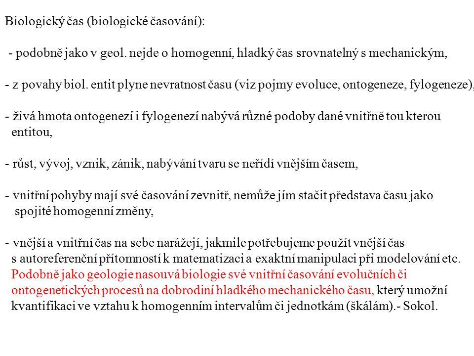 Biologický čas (biologické časování):