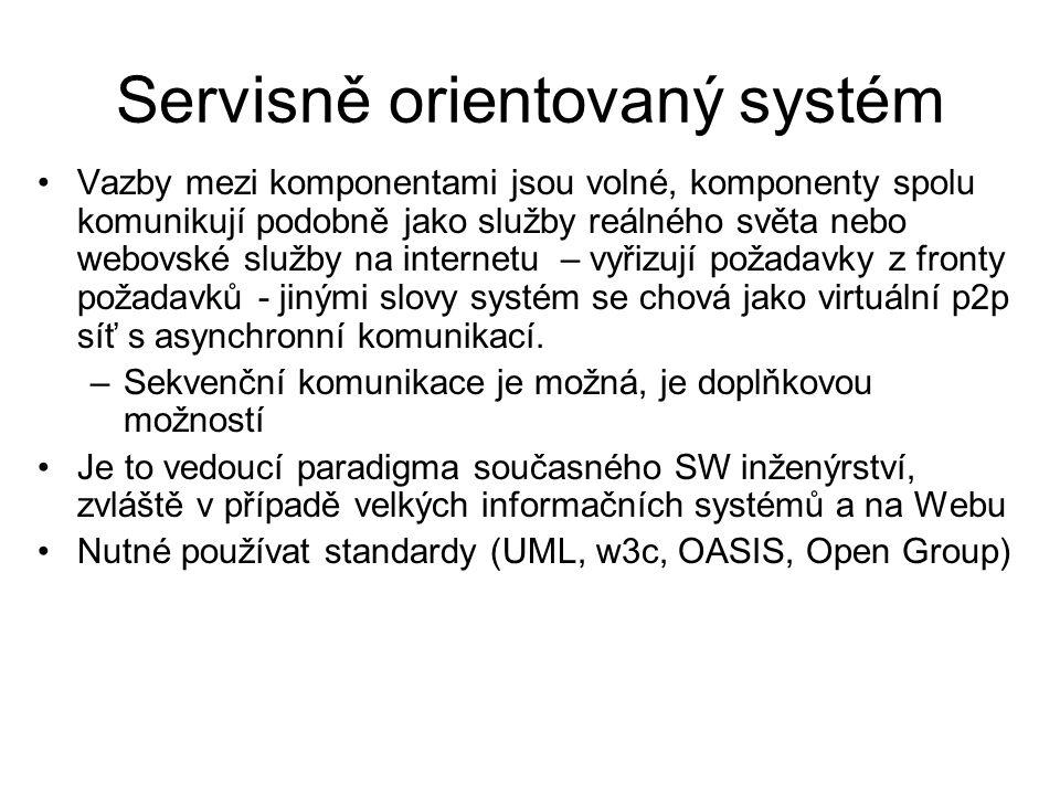 Servisně orientovaný systém
