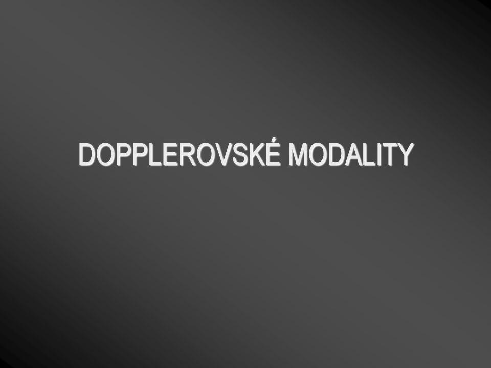 DOPPLEROVSKÉ MODALITY