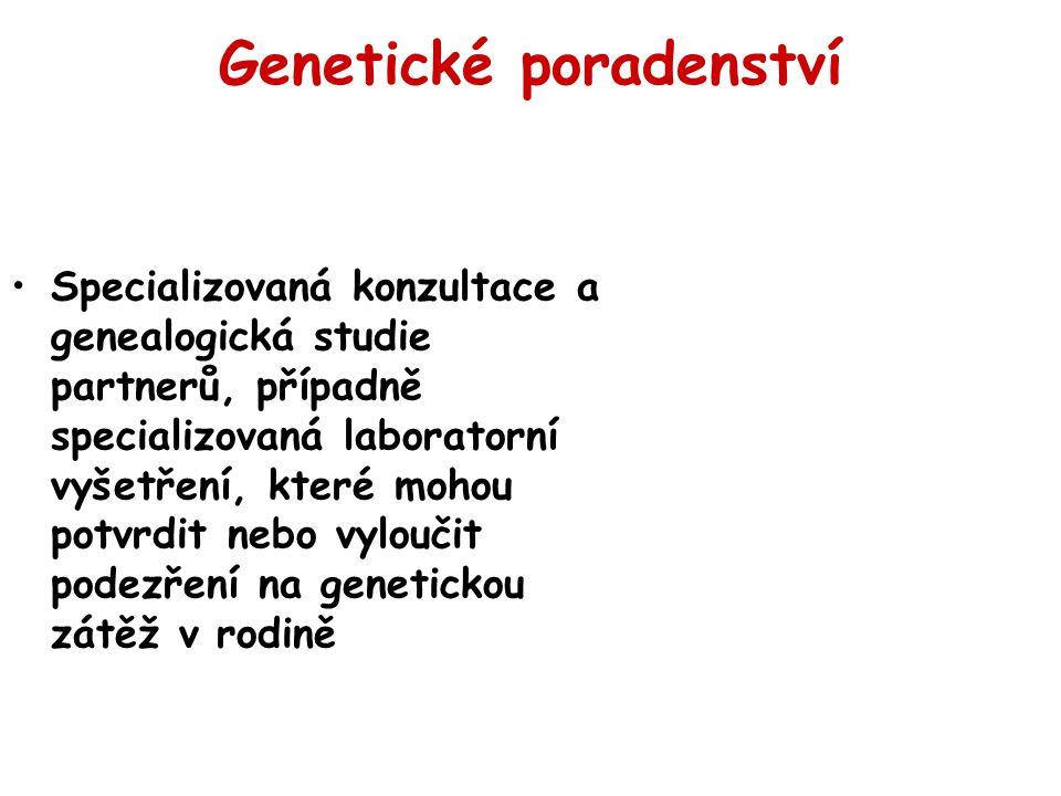Genetické poradenství