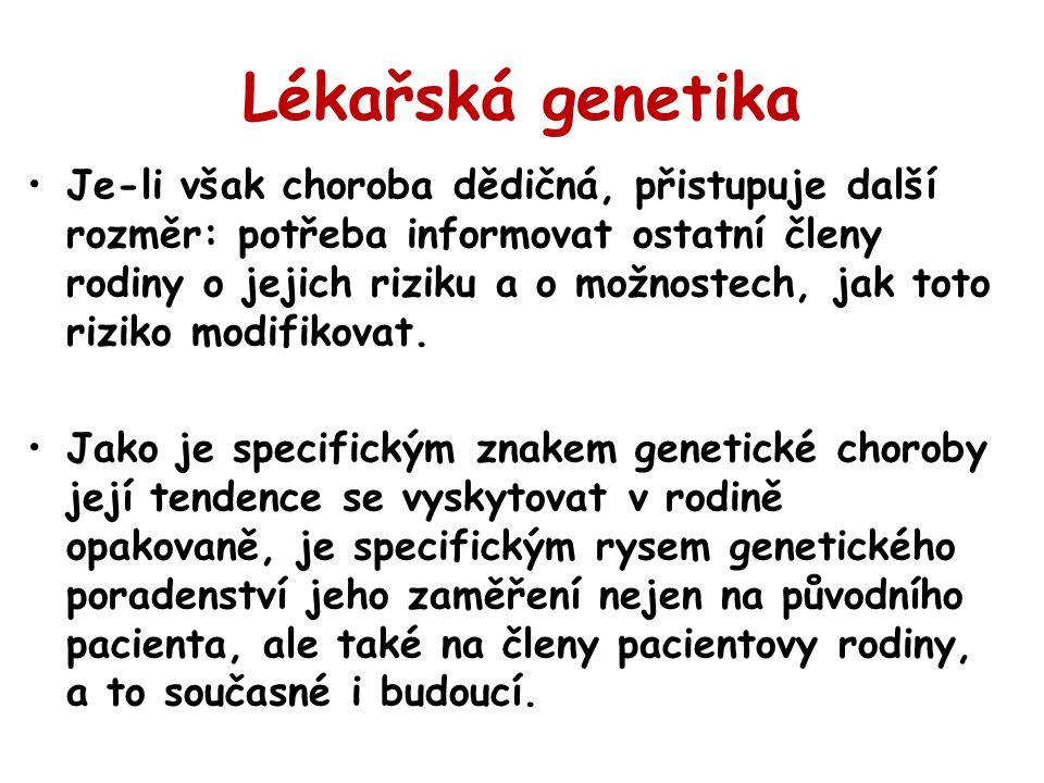 Lékařská genetika